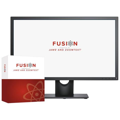Logo et Box ZoomText Fusion
