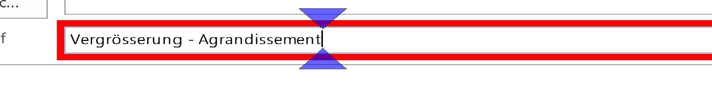 Image symbole agrandissement