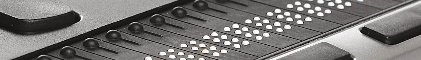 Symbolbild Braillezeile
